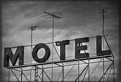 Photograph - Motel by Debra Fedchin