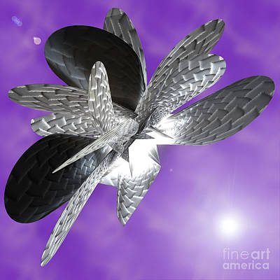First Star Art By Jrr Digital Art - Moth To The Flame by First Star Art