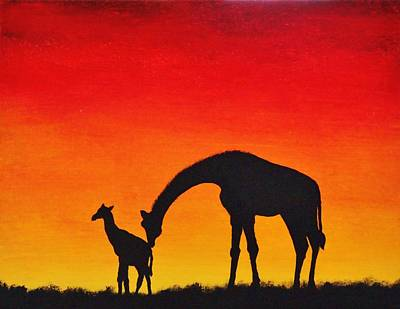 Painting - Mother Africa 2 by Michael Cross