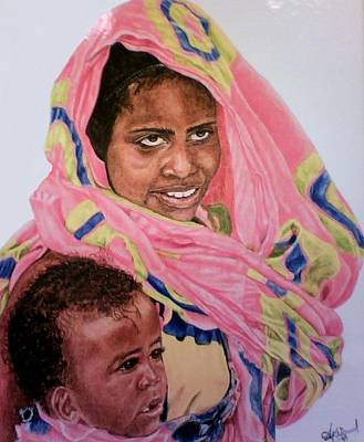 Mother And Child Art Print by Arron Kirkwood