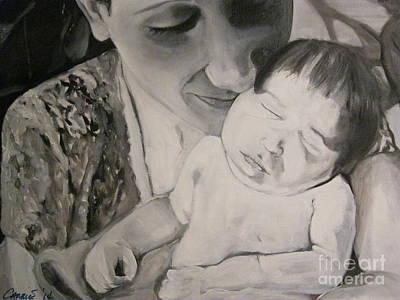 Painting - Mother And Child by Carrie Maurer