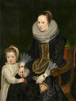 Painting - Mother And Child by Cornelis de Vos