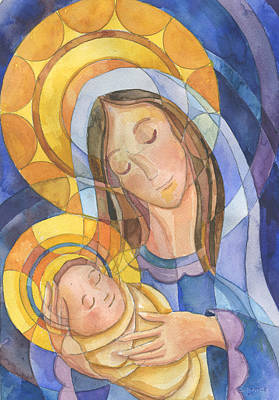 Mother And Child Original by Mark Jennings