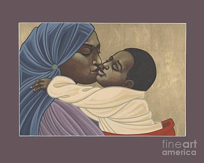 Painting - Mother And Child Of Kibeho 211 by William Hart McNichols