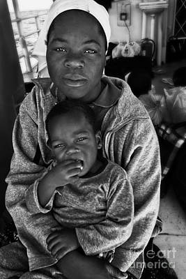 Mother And Son In Zimbabwe Original by Lucas Guardincerri