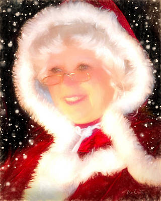 Mixed Media - Mother Christmas by Bob Orsillo