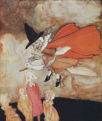 Mother Goose Print by British Library