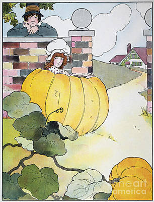 Mother Goose: Pumpkin Print by Granger
