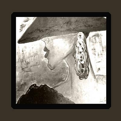 Painting - Mother In Brown by Iris Gelbart