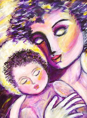 Painting - Mother Love by Anya Heller