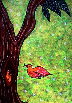 Painting - Mother Love by Priyanka Rastogi