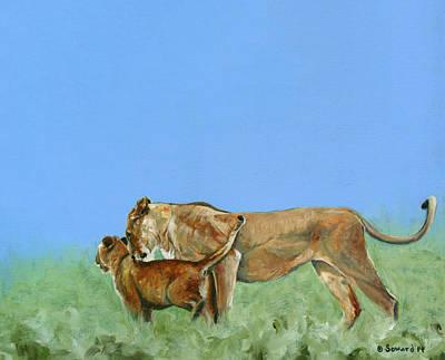 Bonding Painting - Mother Love by Sarah Soward