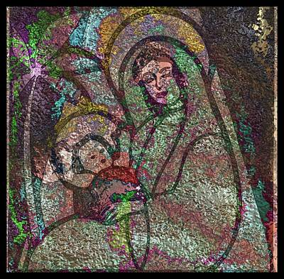 All American - Mother Mary and Christ by Mario Carini