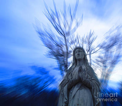 Our Lady Of Mt Carmel Photograph - Mother Mary by Tim Kravel