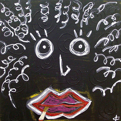 Blackart Digital Art - Mother Natural by Kamoni Khem