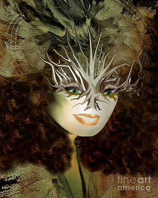 Digita Art Digital Art - Mother Nature  by Doris Wood