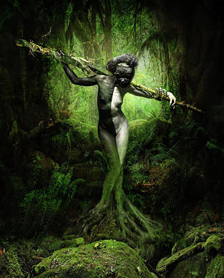Mother Nature I Art Print
