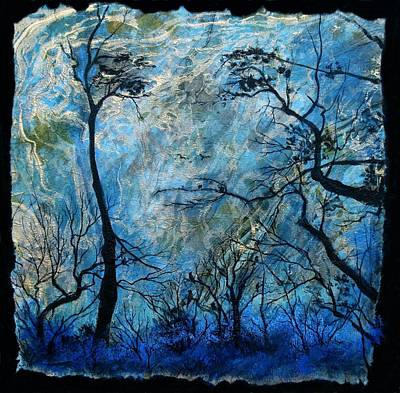 Mystifying Painting - Mother Nature Is Watching by Cathy Geiger