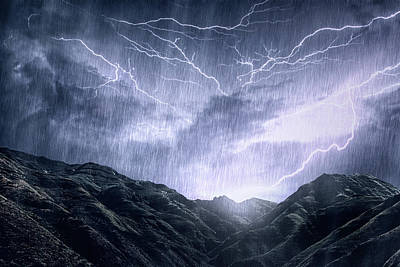 Photograph - Mother Nature Unleashes Her Rage by Yuri arcurs