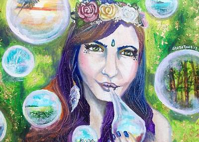 Painting - Mother Natures Kisses by Shana Rowe Jackson