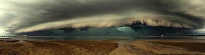 Bay Photograph - Mother Natures Revenge by Mel Brackstone