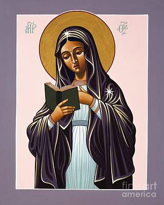 Painting - Mother Of The Incarnate Word 071 by William Hart McNichols