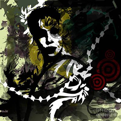 Eureka Springs Digital Art - Mother Ozark by Jeff Danos