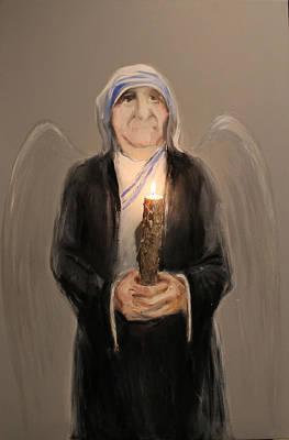 Mother Teresa Original by Mher Khachatryan