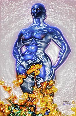 Liberation Digital Art - Motherhood Breaching The Glass Enclosure by Joe Paradis