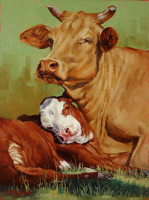 Painting - Motherly Love by Margaret Stockdale