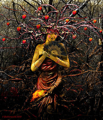 Arcana Wall Art - Digital Art - Mothernature by Larry Butterworth
