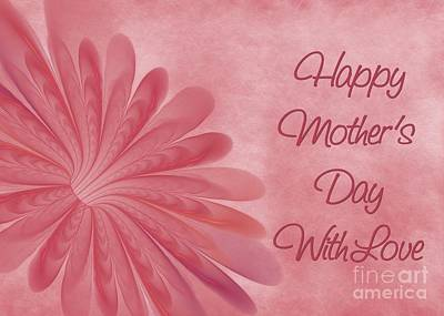 Digital Art - Mother's Day Blossom by JH Designs
