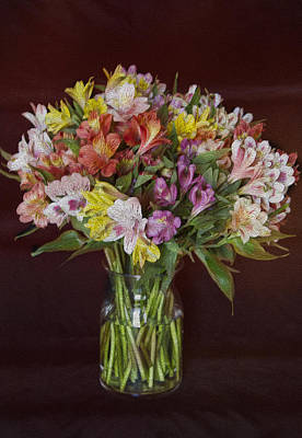 Photograph - Mother's Day Bouquet by Betty  Pauwels