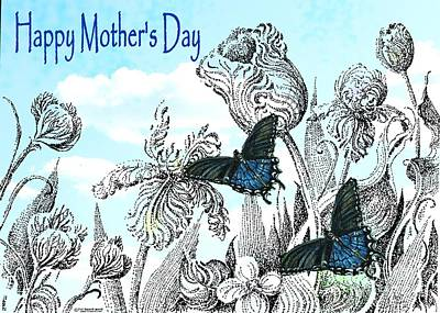 Mixed Media - Mothers Day by Lizi Beard-Ward