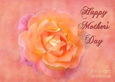 Digital Art - Mother's Day Multi Rose by JH Designs