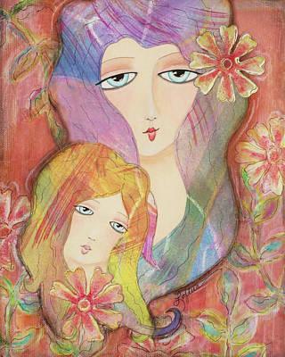 Mothers Love Art Print by Joann Loftus