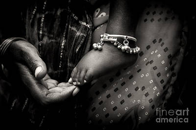 Holding Photograph - Mothers Love by Tim Gainey