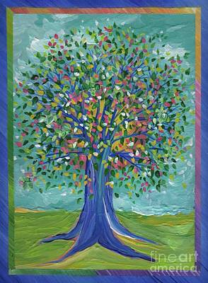 First Star Art By Jrr Painting - Mother's Tree By Jrr by First Star Art