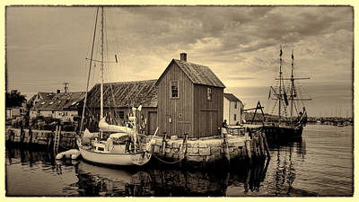Motif Number 1 Photograph - Motif 1 Antiqued Print by Stephen Stookey