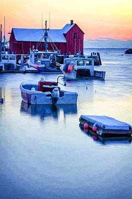 Motif Number 1 Photograph - Motif #1 Breaking Dawn by Donna Doherty