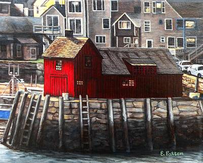 Motif 1 Painting - Motif Afternoon by Eileen Patten Oliver