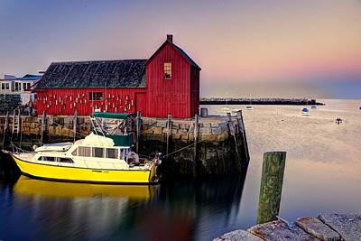 Motif No. 1 On Bearskin Neck Art Print