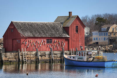 Rockport Wall Art - Photograph - Motif Number 1 by Eric Gendron