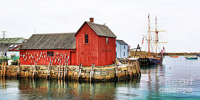 Rockport Wall Art - Photograph - Motif Number 1 Rockport Ma by Jack Schultz