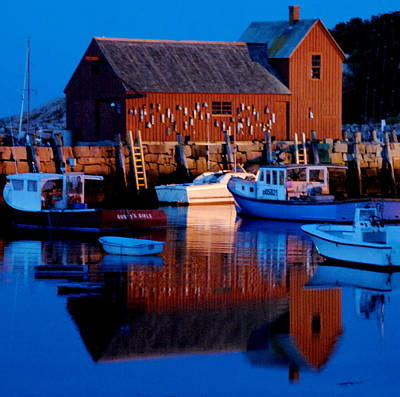 Photograph - Motif Number One - Rockport Mass by Jacqueline M Lewis
