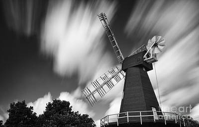 Meopham Photograph - Motion And Windmills by Pete Reynolds