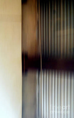 Photograph - Motion-from A Rolling Train by Robert Riordan