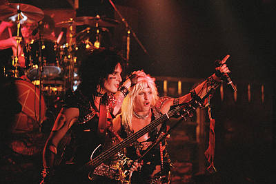 Motley Crue Photograph - Motley Crue '83 by Chris Deutsch