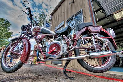 Photograph - Moto Guzzi Classic by Britt Runyon