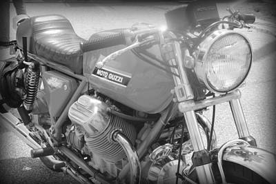 Photograph - Moto Guzzi I by Kelly Hazel